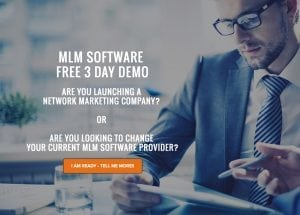 Network Marketing Software - MLMBuilder Page