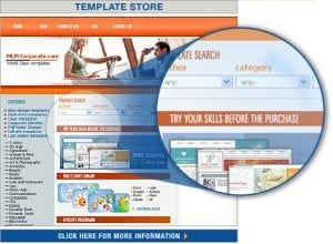 Template Store Preview