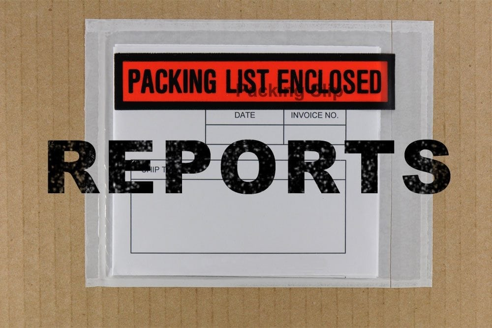 MLM Packing Slip Reports