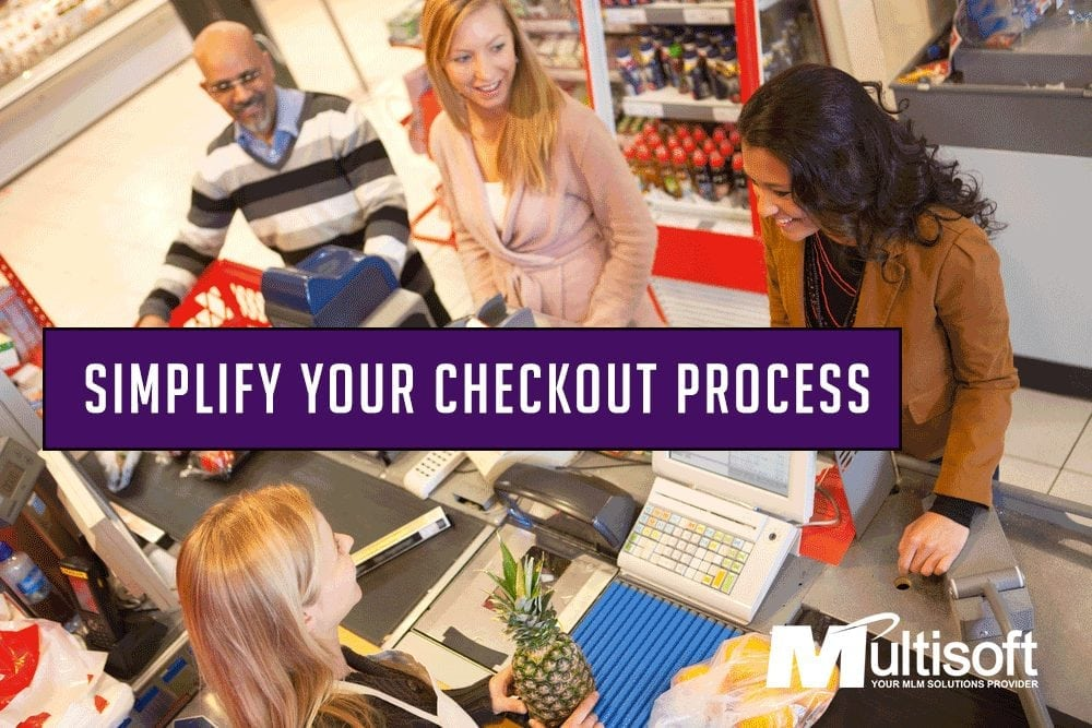 Simplify Your MLM Checkout