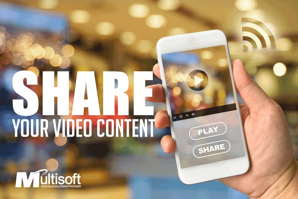 Share Your Video MLM Content