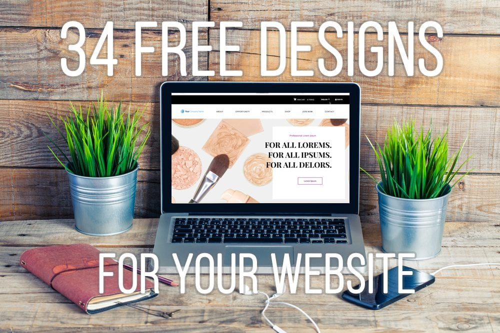 34 Free Website Templates For Your MarketPowerPRO Website