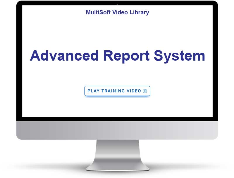 Advanced Report System